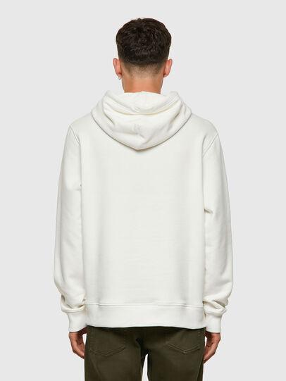 Diesel - S-GIRK-HOOD-C.C, White - Sweaters - Image 2