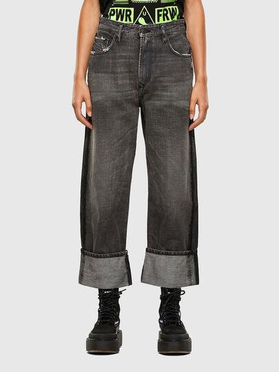 Diesel - D-Reggy 009IL, Black/Dark grey - Jeans - Image 1