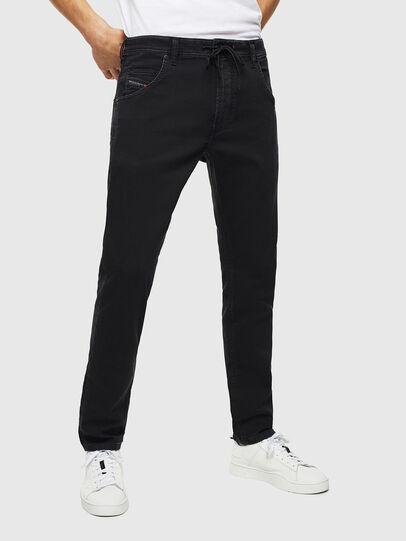 Diesel - Krooley JoggJeans 0687Z, Black/Dark grey - Jeans - Image 1