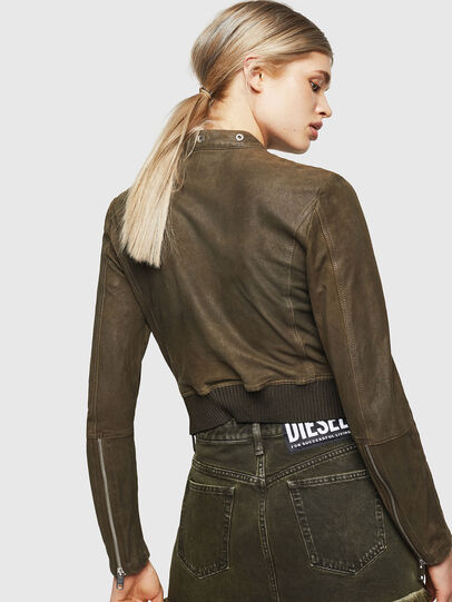 Diesel - L-LYSSA-G,  - Leather jackets - Image 2