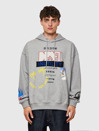 Diesel - S-UMMER-B4, Grey - Sweaters - Image 1