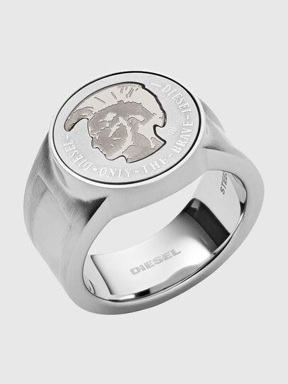 Diesel - DX1202, Silver - Rings - Image 1