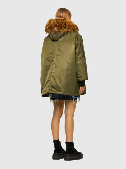 Diesel - W-FLORES, Military Green - Winter Jackets - Image 2
