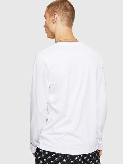 Diesel - T-DIEGO-B6-LONG, White - T-Shirts - Image 2