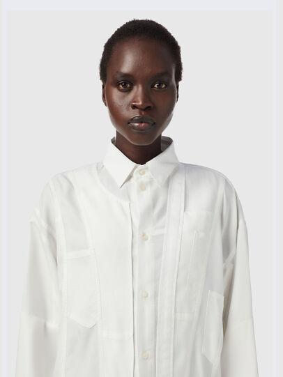 Diesel - C-VALERIA-A, White - Shirts - Image 3