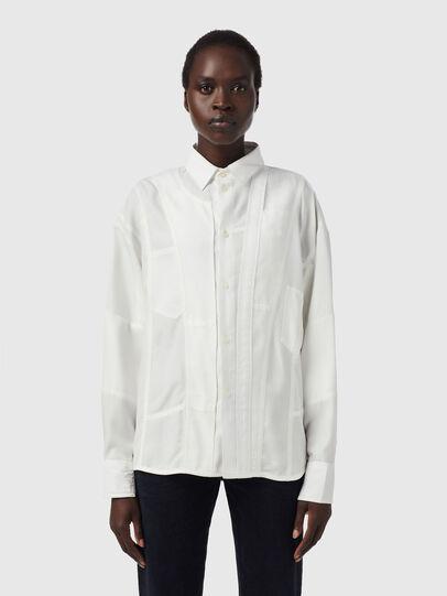 Diesel - C-VALERIA-A, White - Shirts - Image 1