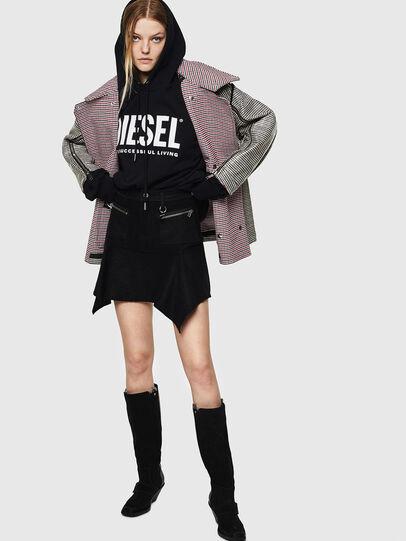 Diesel - O-BRYEL-A, Black - Skirts - Image 6