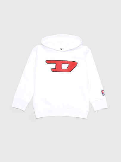 Diesel - SDIVISION-D OVER, White - Sweaters - Image 1