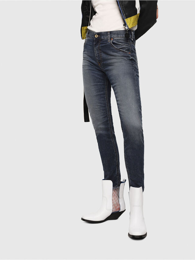 Diesel - Krailey JoggJeans 069FG, Dark Blue - Jeans - Image 1