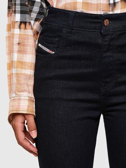 Diesel - Slandy High 009CW, Dark Blue - Jeans - Image 3