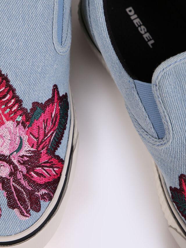 S-LAIKA SLIP ON W, Blue Jeans
