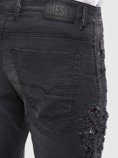 Diesel - KROOLEY JoggJeans® 069RA, Black/Dark grey - Jeans - Image 5