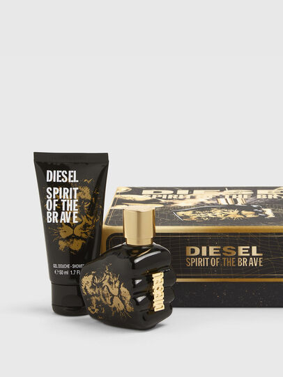 Diesel - SPIRIT OF THE BRAVE 35ML GIFT SET, Black/Gold - Only The Brave - Image 1