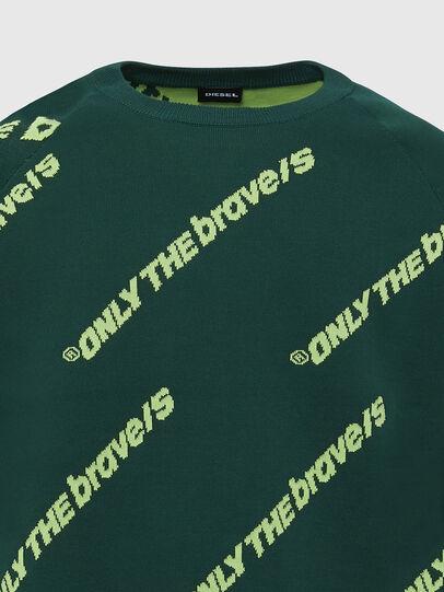 Diesel - K-DAVIS, Dark Green - Knitwear - Image 3