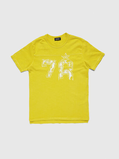 Diesel - TDIEGOCUTA, Yellow - T-shirts and Tops - Image 1