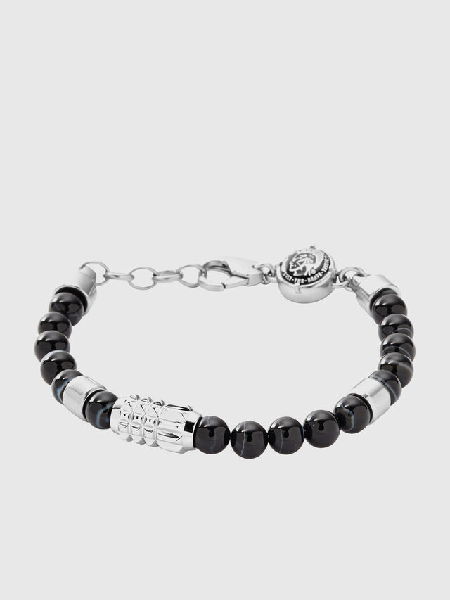 Diesel BRACELET DX0847, Black/Grey - Bracelets - Image 1