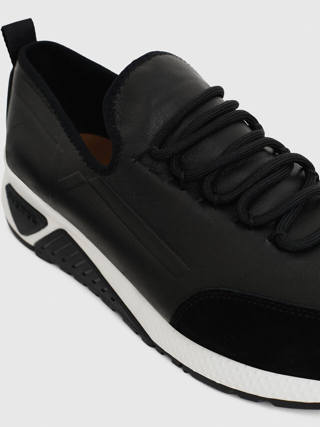 Diesel - S-KBY, Black Leather - Sneakers - Image 4