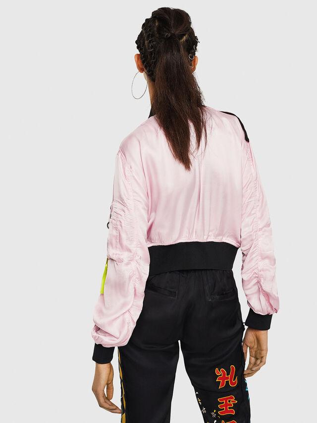 Diesel - G-KINSLEE-A, Pink - Jackets - Image 2