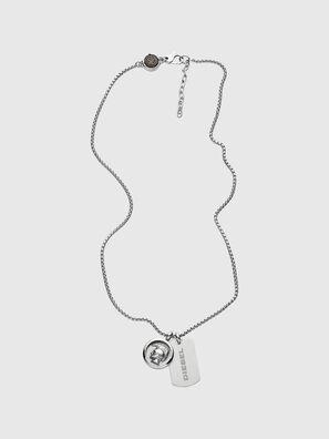 DX1209, Silver - Necklaces