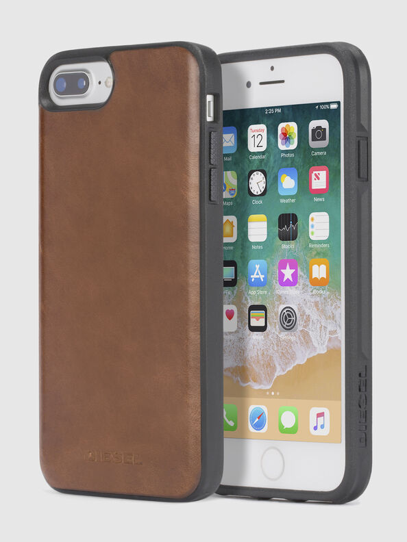 BROWN LEATHER IPHONE 8/7/6s/6 CASE,  - Cases