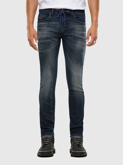Diesel - Thommer JoggJeans® 069NT, Dark Blue - Jeans - Image 1