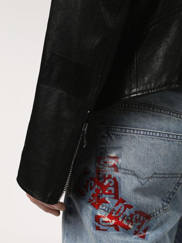 L-WILLCOX, Black Leather