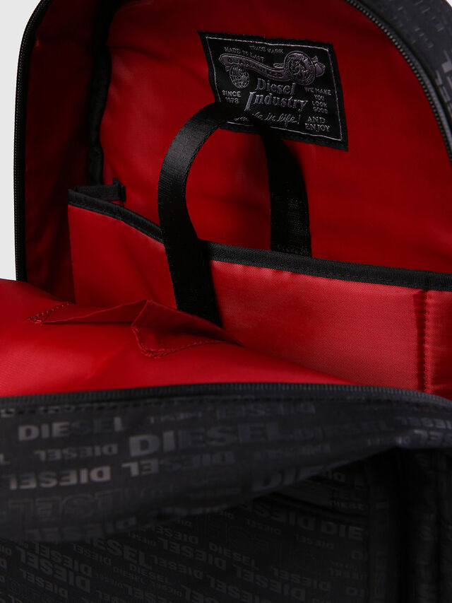 Diesel - F-DISCOVER BACK, Black/Red - Backpacks - Image 6