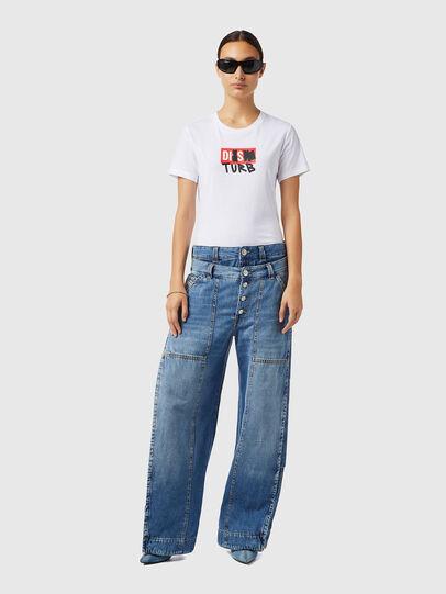 Diesel - D-Laly 0AFAM, Medium blue - Jeans - Image 5