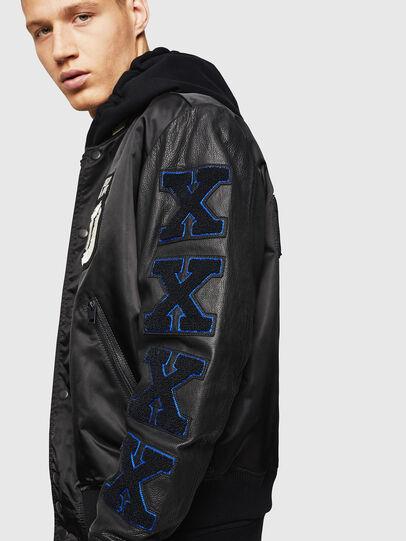 Diesel - L-KHARKOV,  - Leather jackets - Image 4