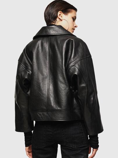 Diesel - LJESIV,  - Leather jackets - Image 2