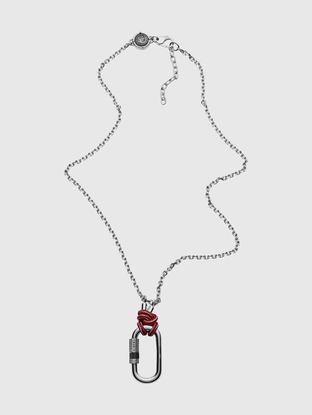 Diesel - DX1155, Silver - Necklaces - Image 1