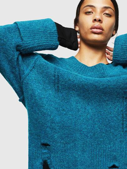 Diesel - M-MARIKAX, Blue Marine - Knitwear - Image 3