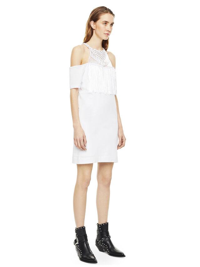Diesel - DERSEY, White - Dresses - Image 5