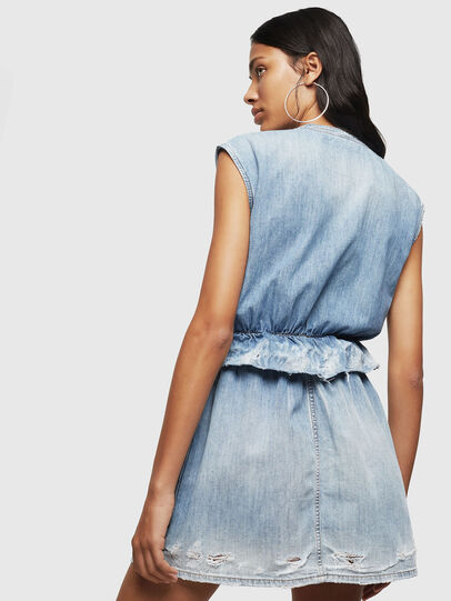 Diesel - DE-AVA, Light Blue - Dresses - Image 2