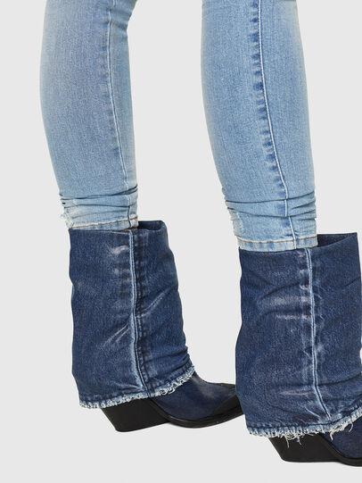 Diesel - Slandy Low 086AA, Light Blue - Jeans - Image 5