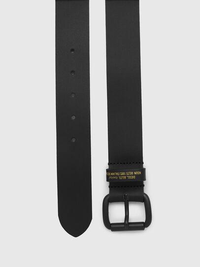 Diesel - B-NOVO, Black - Belts - Image 3