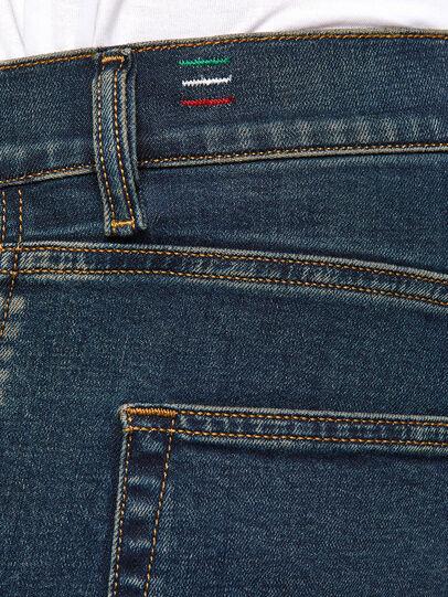 Diesel - D-Strukt 0093J, Dark Blue - Jeans - Image 5