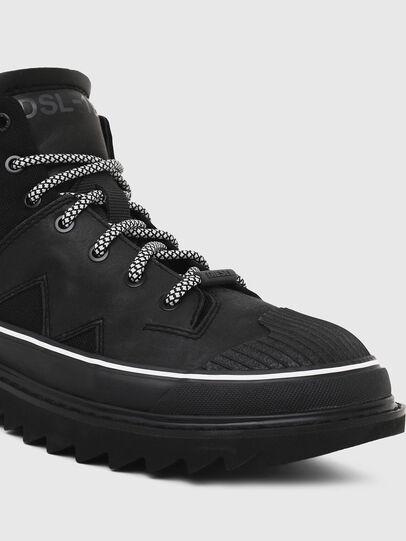 Diesel - H-SHIROKI DBB X, Black - Boots - Image 4