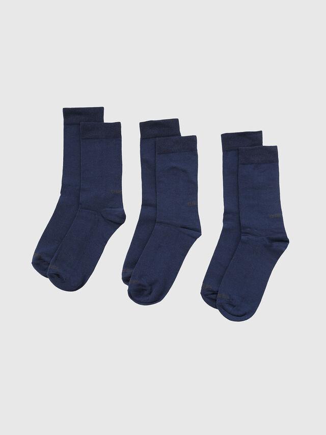 Diesel - SKM-RAY-THREEPACK, Blue - Socks - Image 1