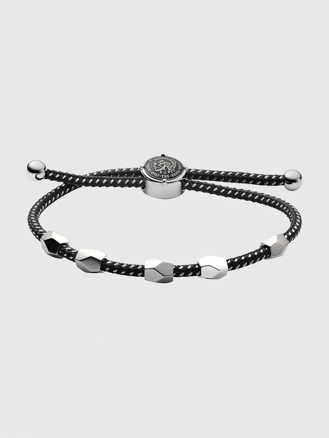 Diesel - DX1139, Black/Silver - Bracelets - Image 1