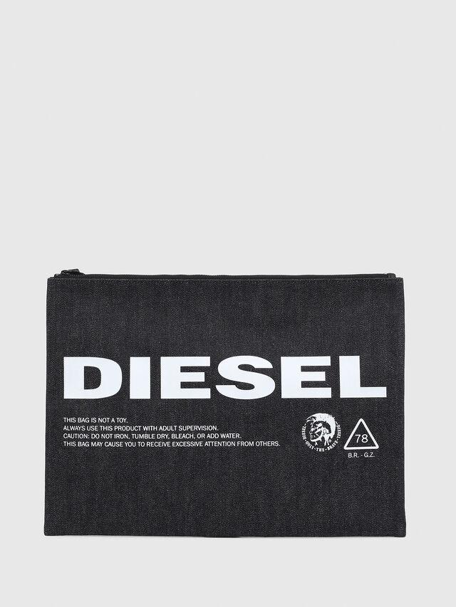 Diesel - LUSINA II, Blue Jeans - Continental Wallets - Image 1