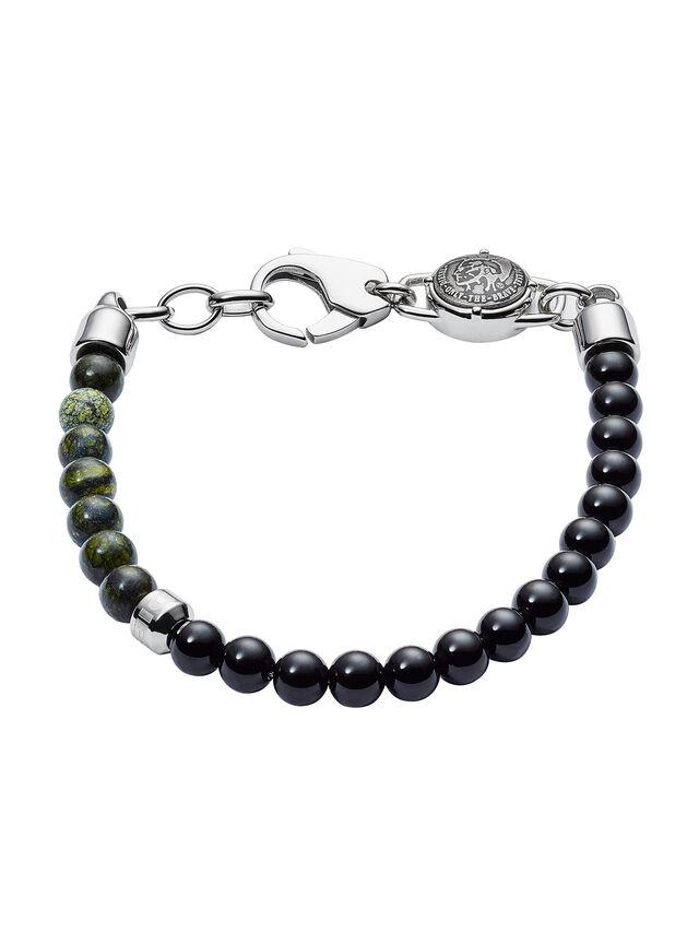Diesel - BRACELET DX1059, Black - Bracelets - Image 1