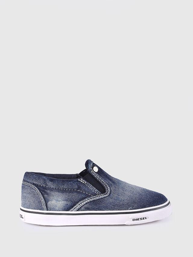 KIDS SLIP ON 21 DENIM CH, Blue Jeans - Footwear - Image 1