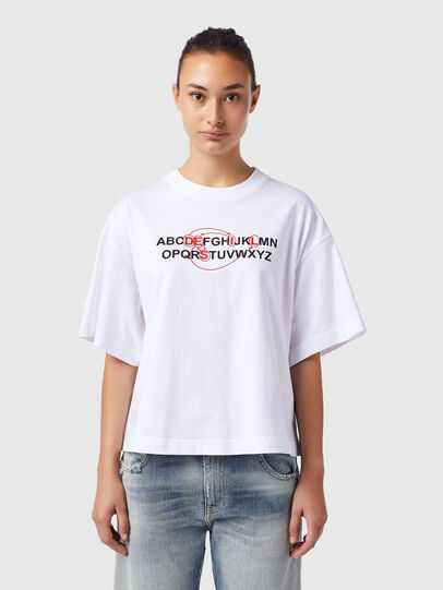 Diesel - T-BOWXY-B1, White - T-Shirts - Image 1