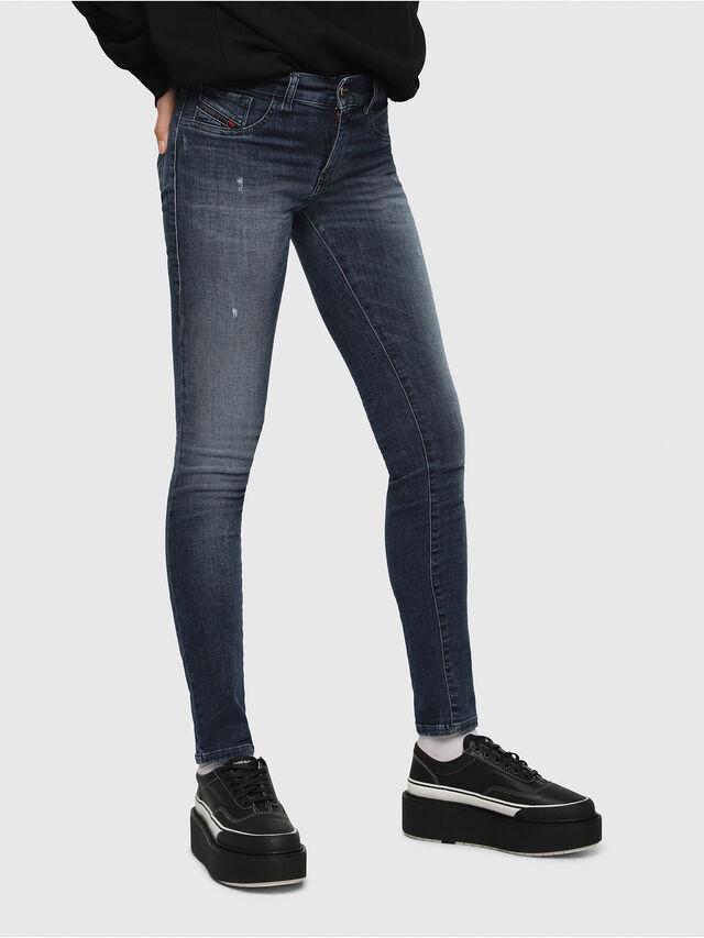 Diesel - Livier 0687L, Medium blue - Jeans - Image 1