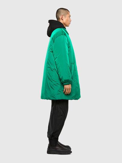 Diesel - W-KODYN, Green - Winter Jackets - Image 8