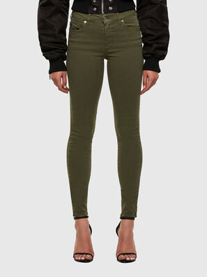D-Roisin 0096H, Military Green - Jeans