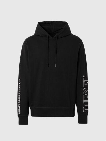 Diesel - UMLT-BRANDON, Black - Sweaters - Image 1
