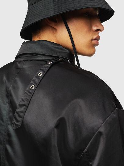 Diesel - W-ADAM, Black - Winter Jackets - Image 5