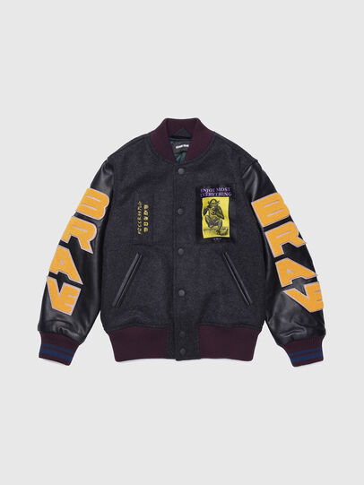 Diesel - JHARRYZ, Black/Orange - Jackets - Image 1